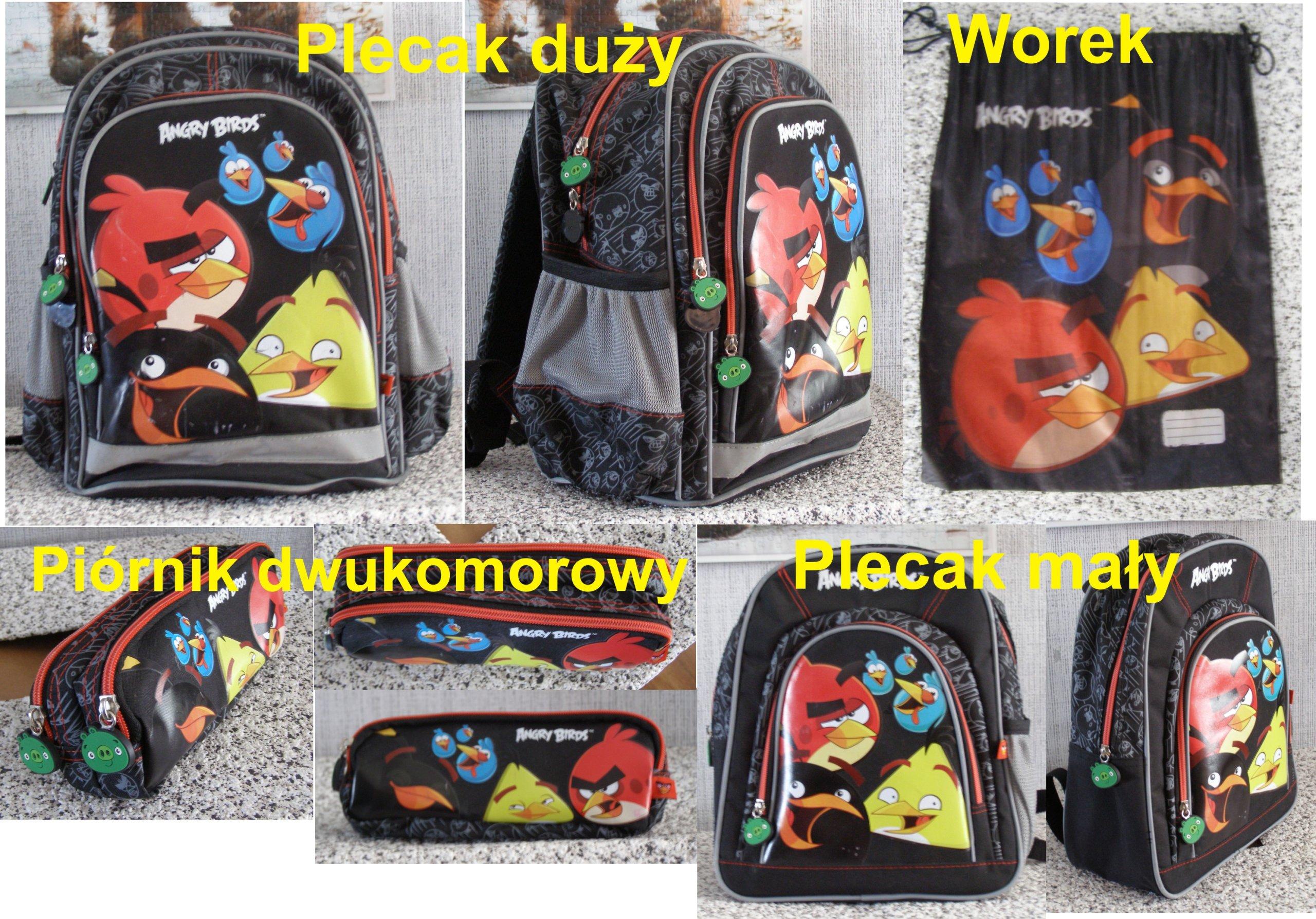 21fab294c2820 ... Plecak szkolny Angry Birds Star Wars GRATIS. PLECAK ANGRY BIRDS +++