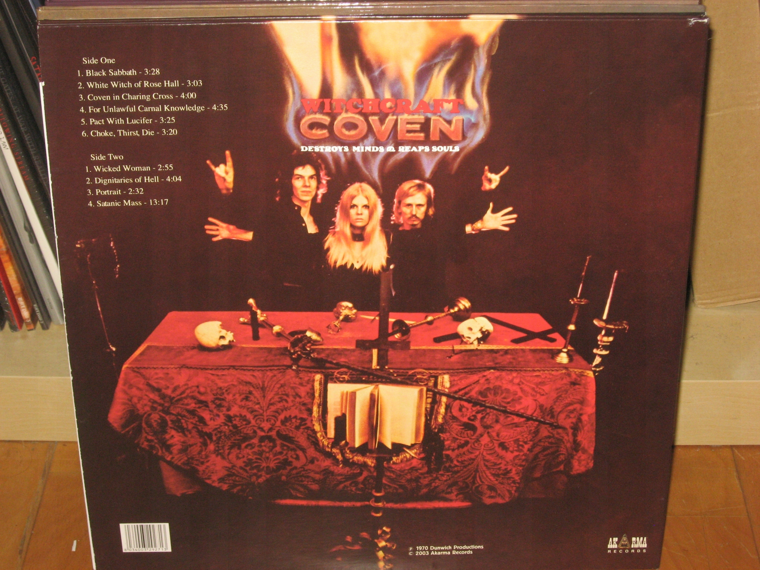 COVEN Witchcraft Destroys Minds & Reaps Souls