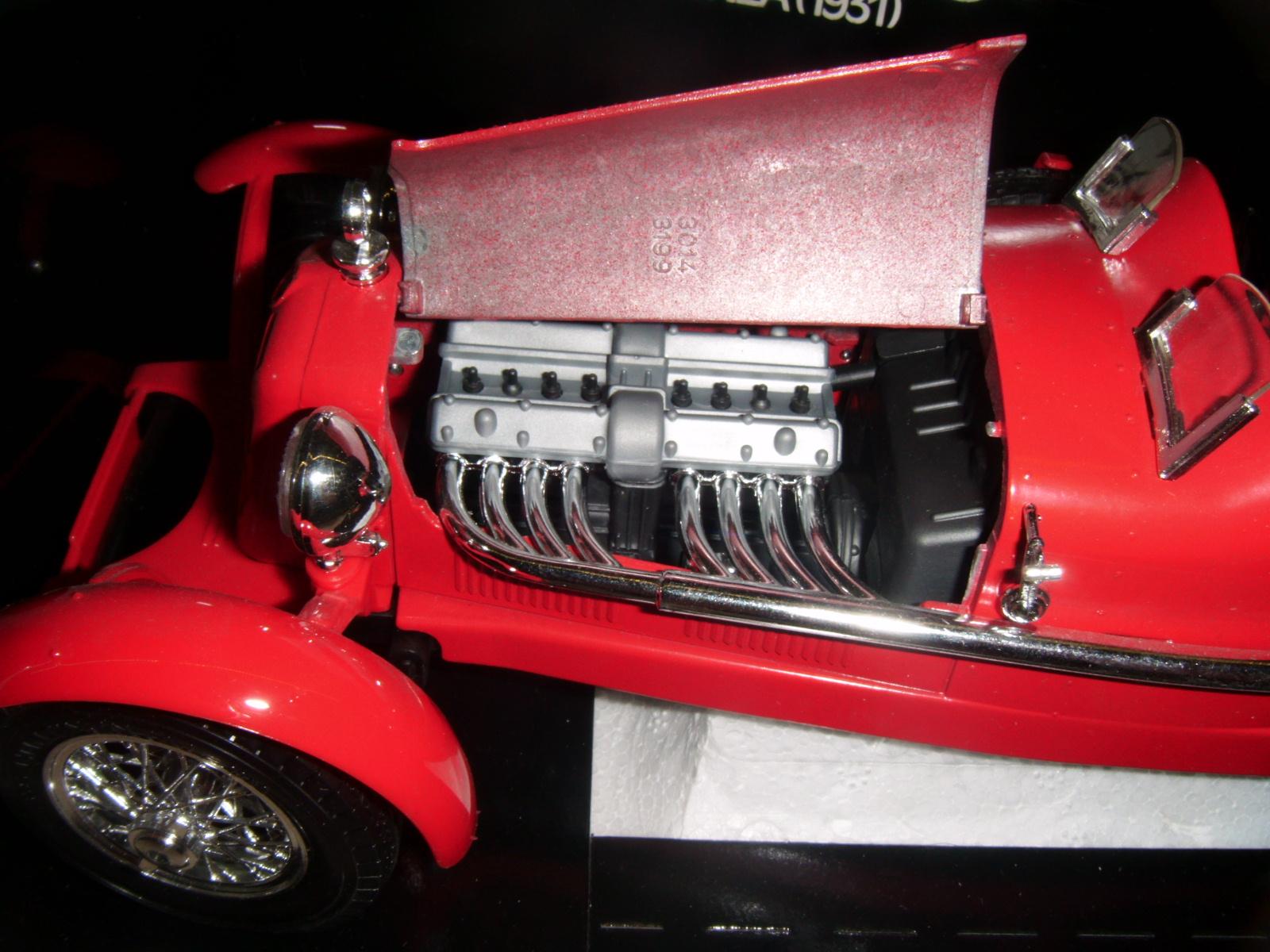 Bburago Alfa Romeo 8C 2300 Monza 1931r Italy 1 18