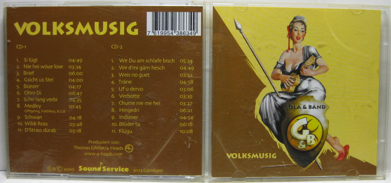 Gola & Band - Volksmusic / 2CD