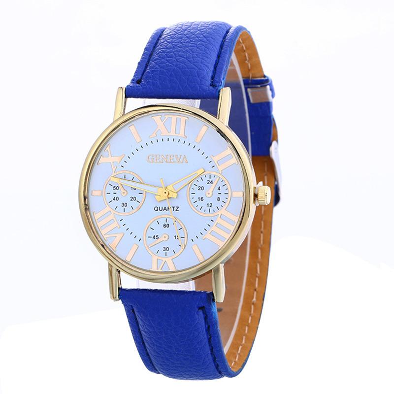 Zegarek Geneva damski męski kobaltowy
