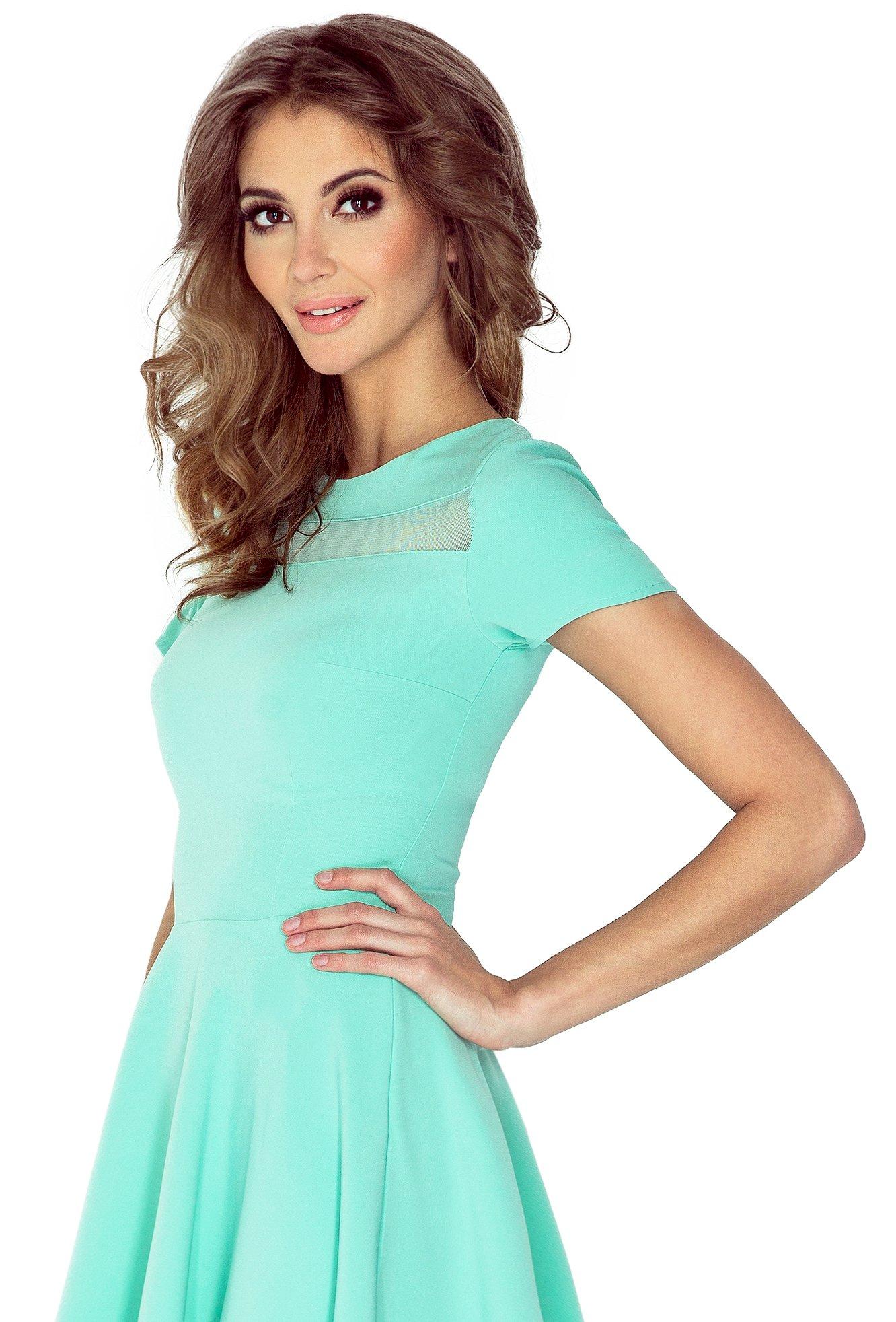 cb98739dce WIOSENNA Sukienka ROZKLOSZOWANA Morimia 003-1 L 40 - 7231069762 ...