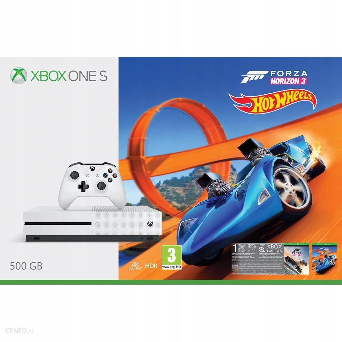 Xbox One Slim 500 GB +Forza Horizon 3+ Hot Weels