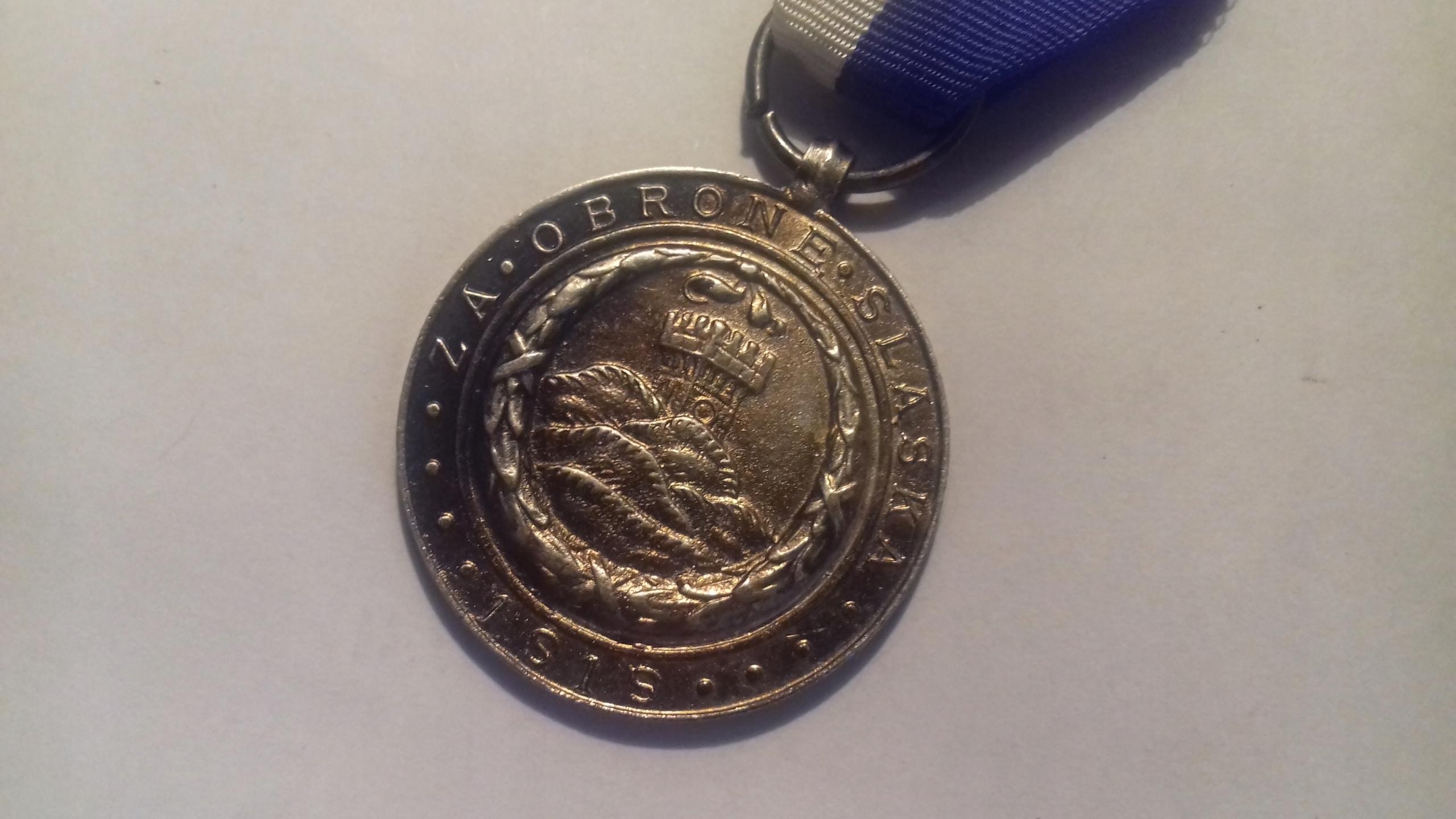 Cieszyn medal obrony ziemi cieszyńskiej