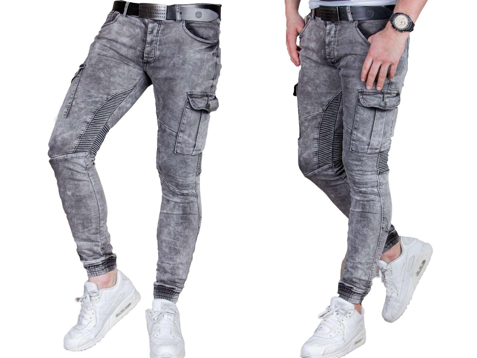 Spodnie joggery grafit zs736-11 fashionmen2 r. 36 - 7135818350 ... 263a648143