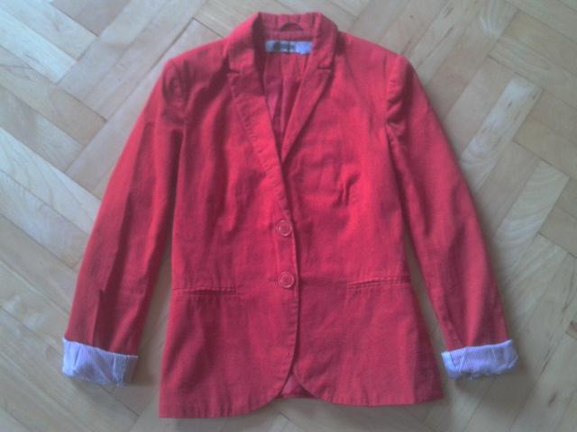 3fa8c3c5b0560 Stradivarius marynarka czerwona - 7375264352 - oficjalne archiwum ...