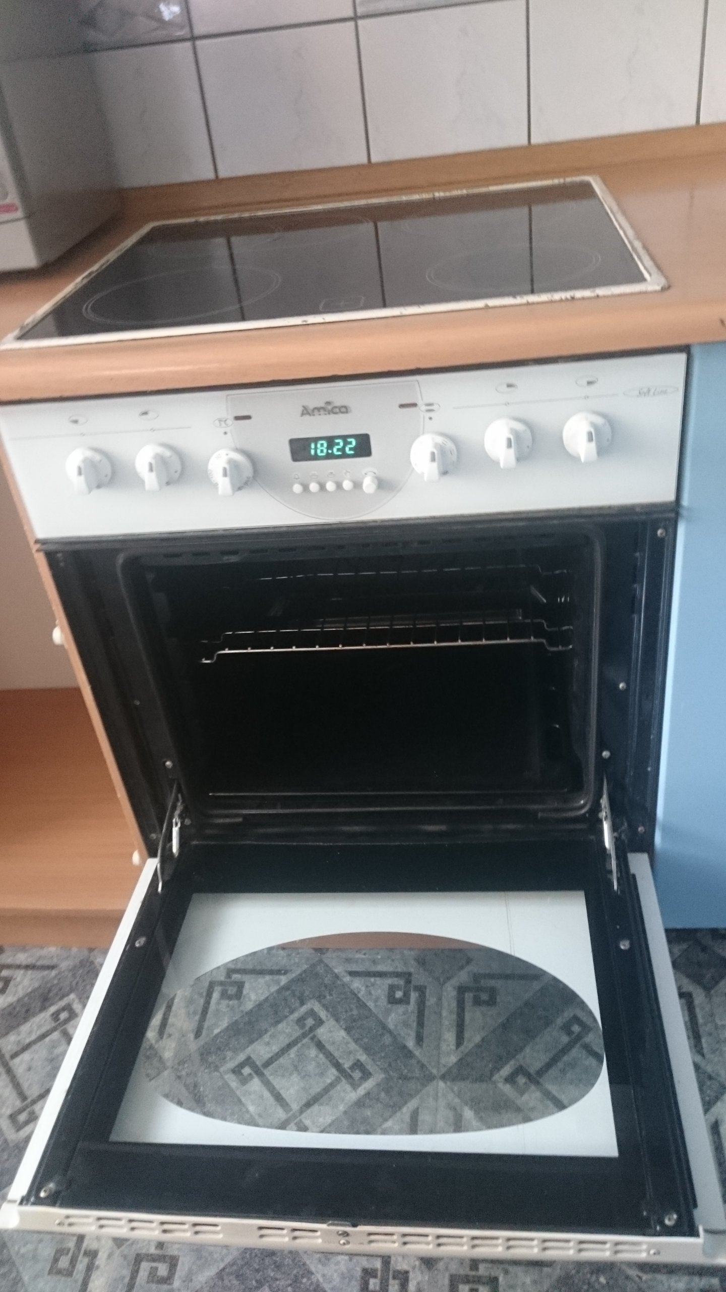 Kuchnia Elektryczna Amica Z Blatem Ceramicznym 7342878626