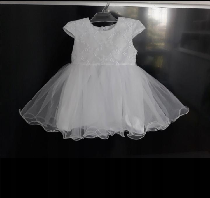 de240749cd Sukienka na chrzciny