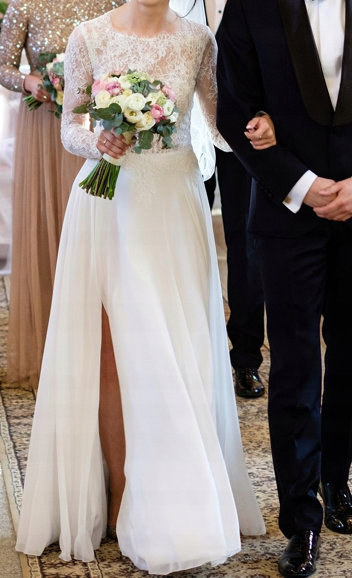 Suknia ślubna Julia Gastoł Atelier Koronkamuślin 7495579114