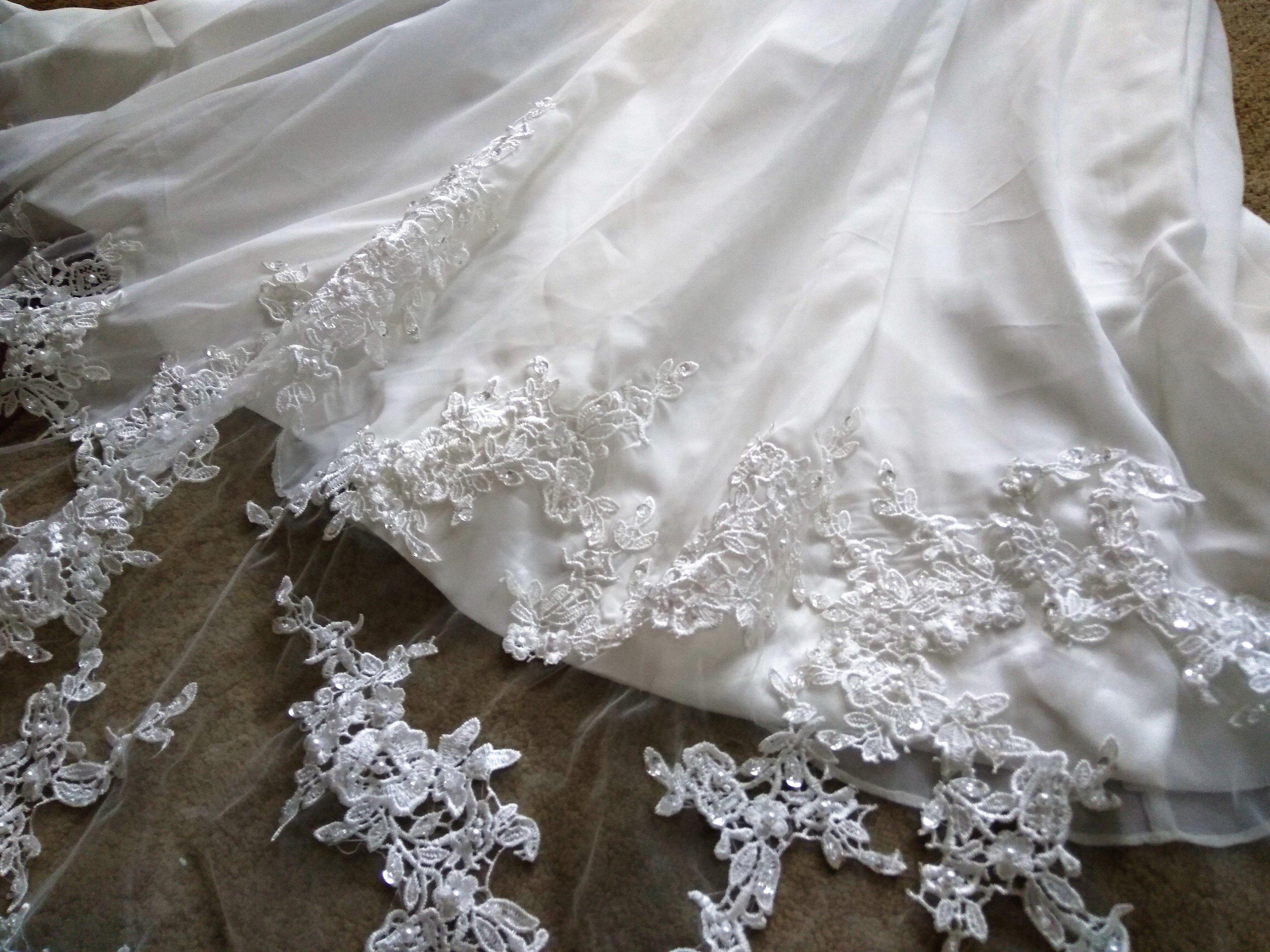 Suknia ślubna Uk Nowa Nigdy Nie Używana Sm Długa 7459972436