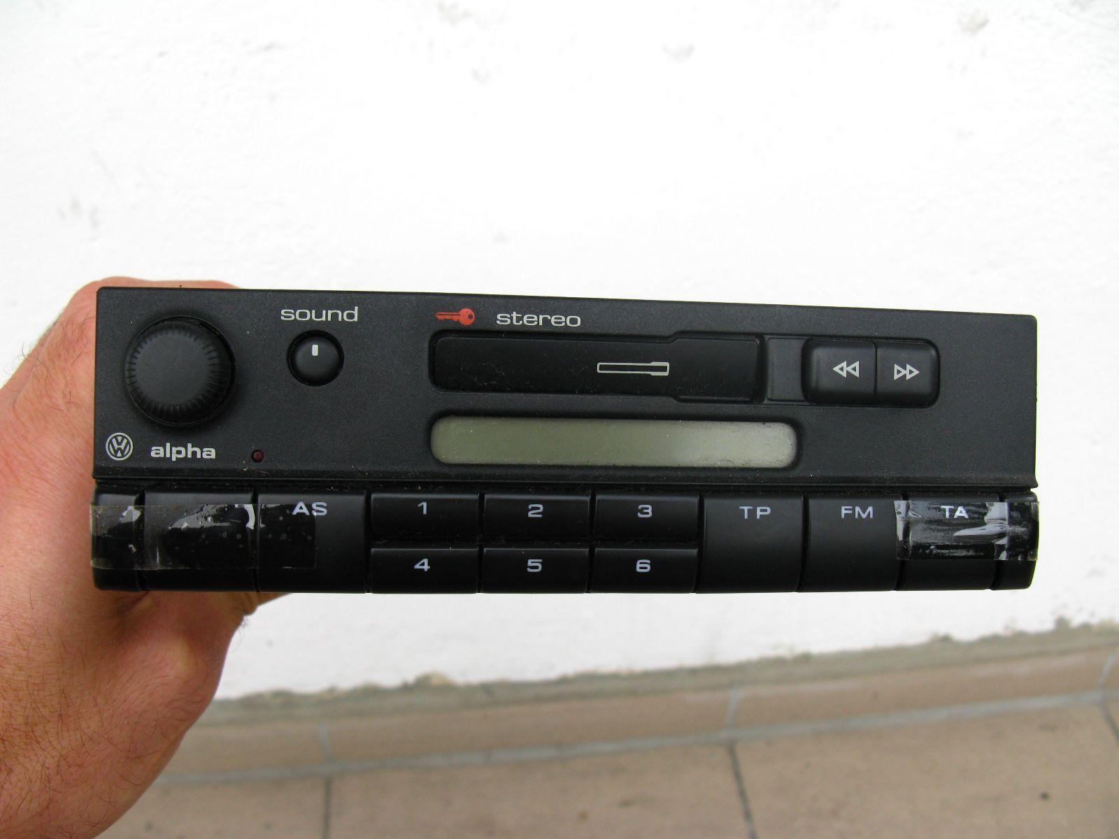 radio samochodowe kasetowe vw alpha cc blaupunkt 7289163183 oficjalne archiwum allegro. Black Bedroom Furniture Sets. Home Design Ideas