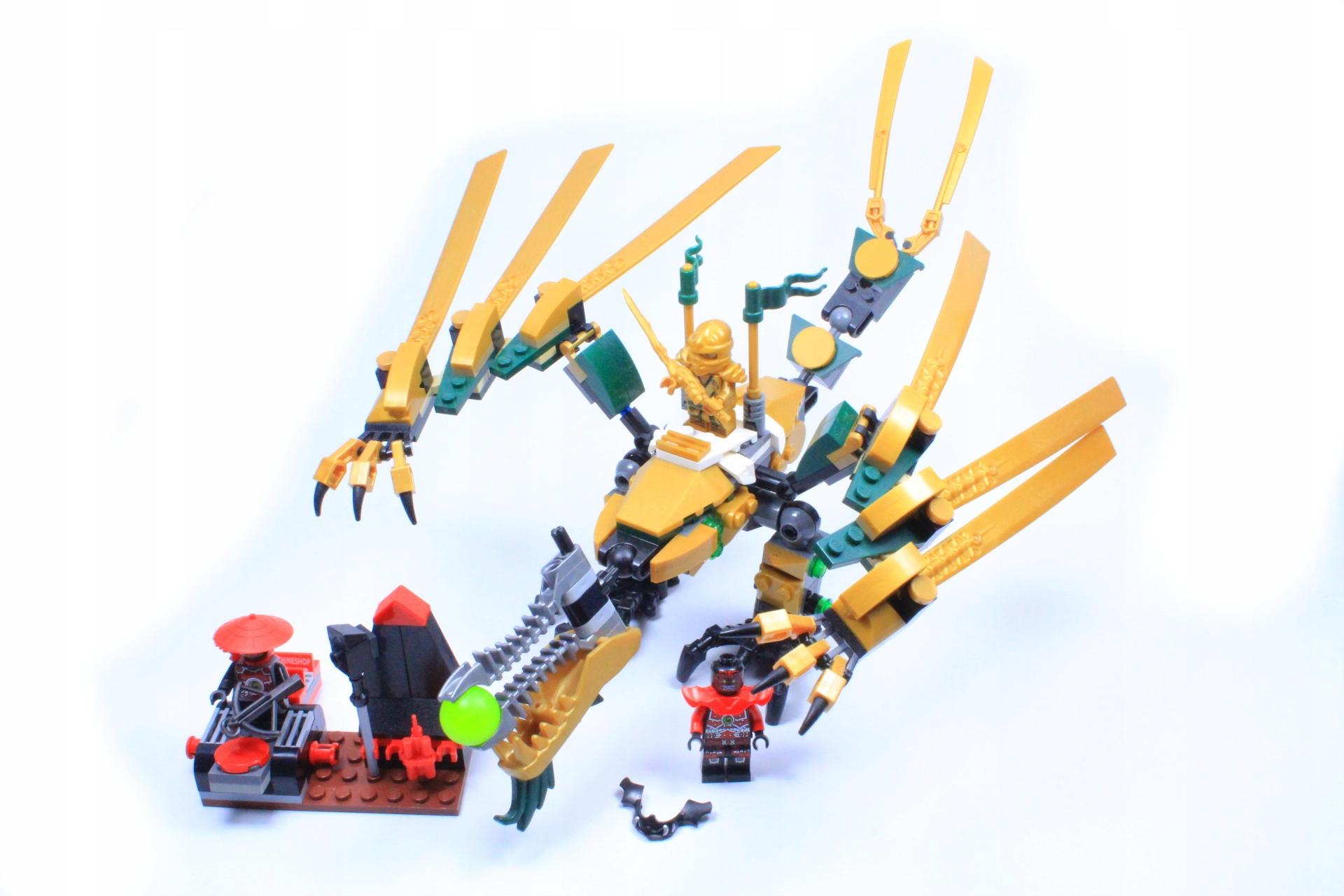 Lego Ninjago 70503 Złoty Smok 7655437848 Oficjalne Archiwum Allegro