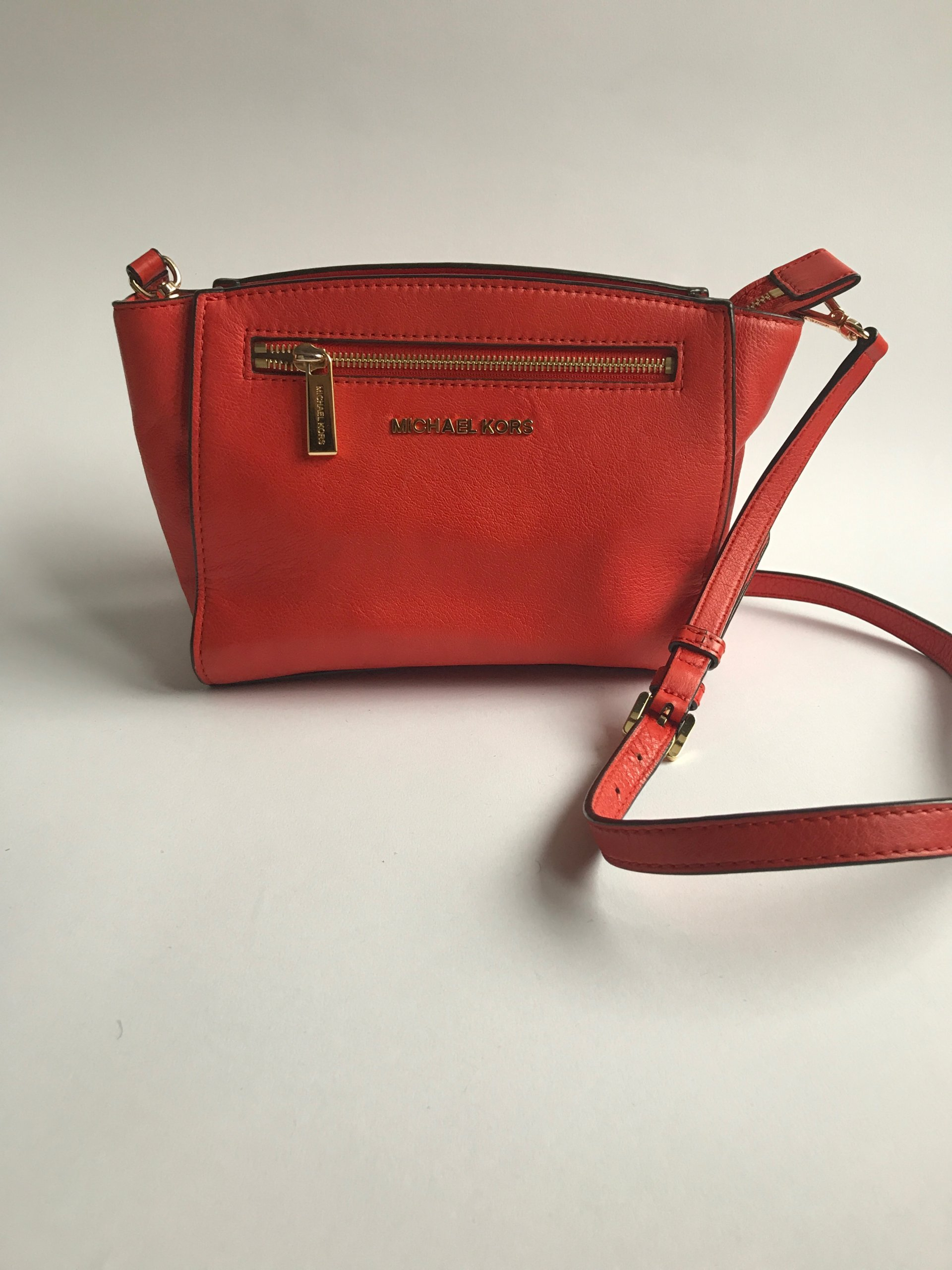 0baee0c1d9402 Oryginalna mała czerwona torebka Michael Kors - 7150173564 ...