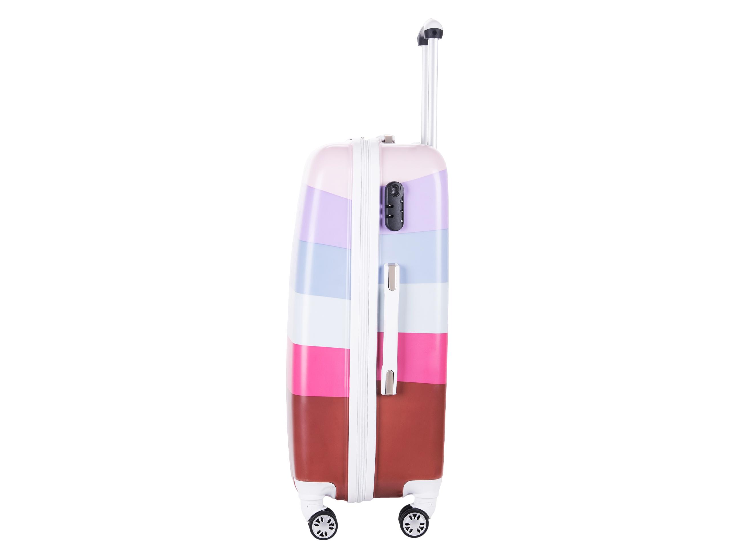 7296a29c52355 walizka TWARDA 85170 XXL globtroter 4x kółka + GWR - 7236133056 ...