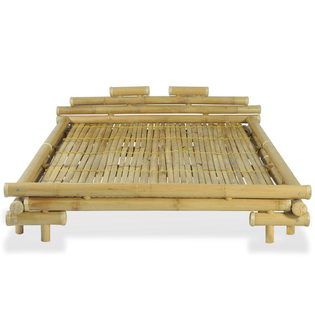 łóżko Rama łóżka Bambusowa 140x200cm Do Sypialni