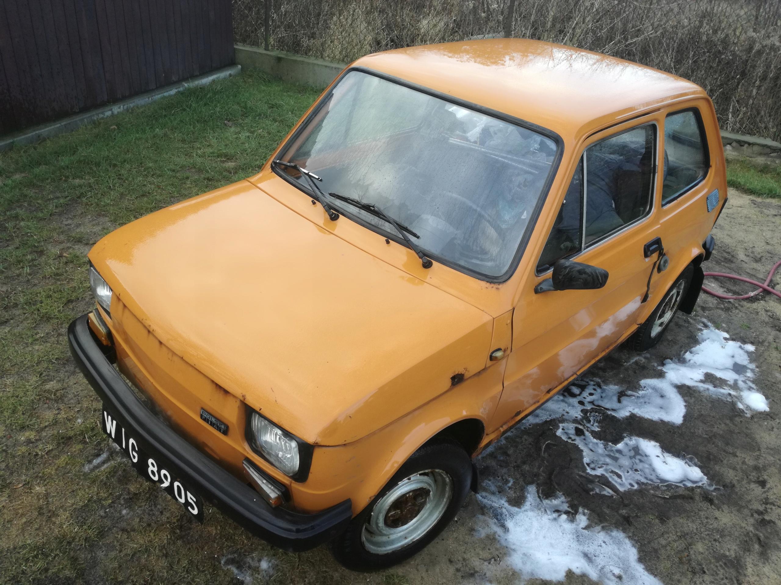 Fiat 126 Maluch Zabytek
