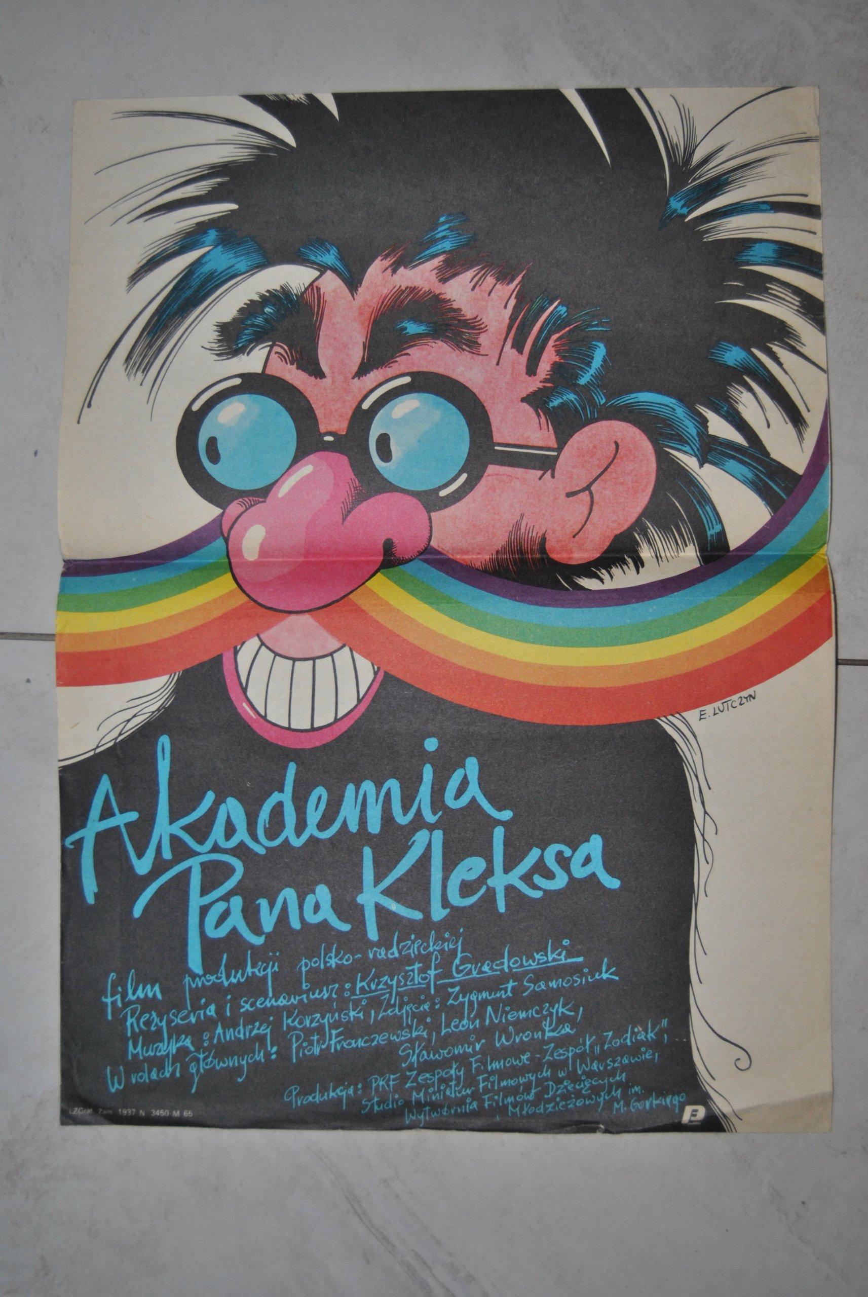 Plakat Filmowy Akademia Pana Kleksa Lutczyn 7194638997