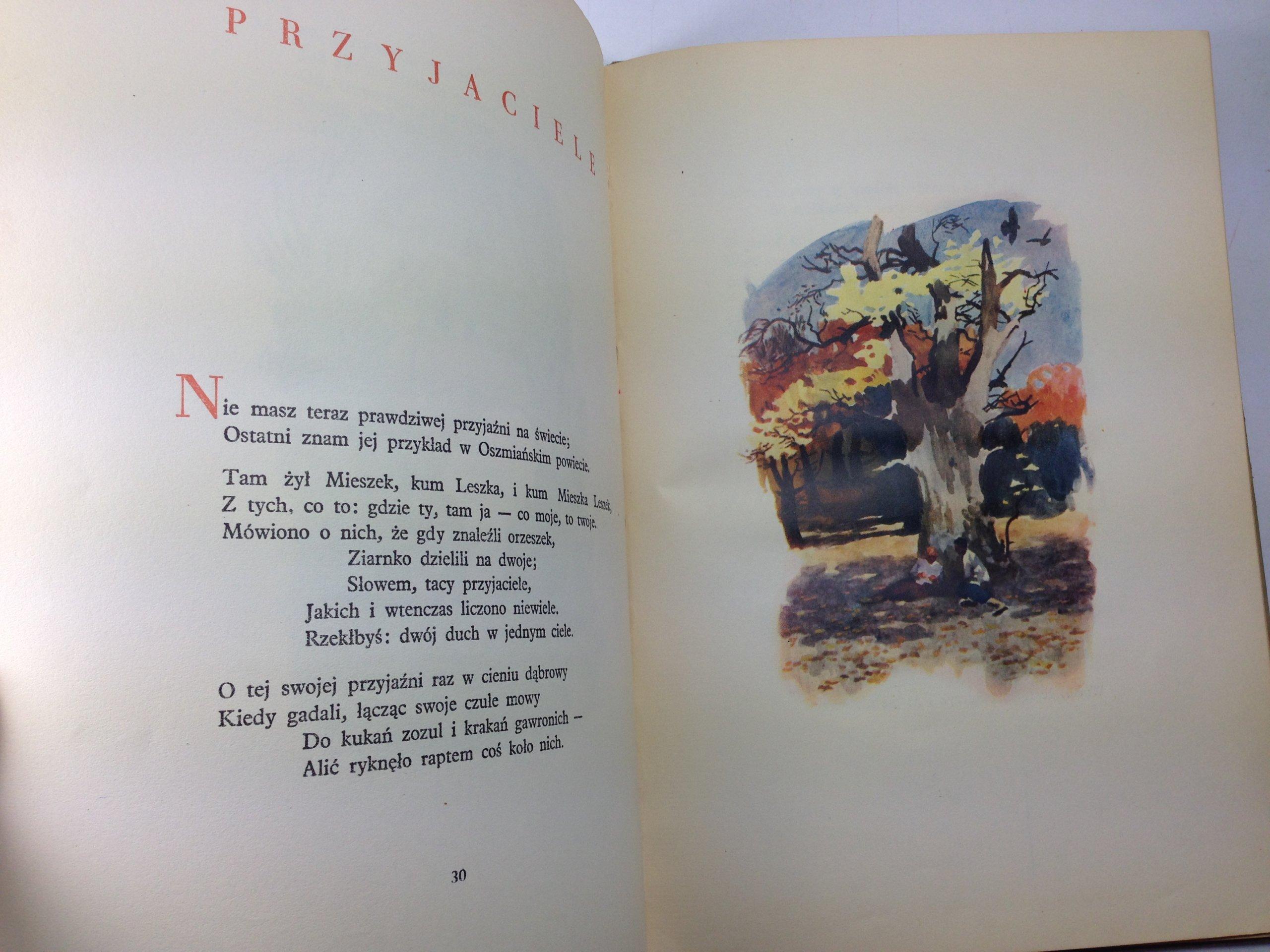 Mickiewicz Bajki 1952 Il Maciąg 7117752175 Oficjalne