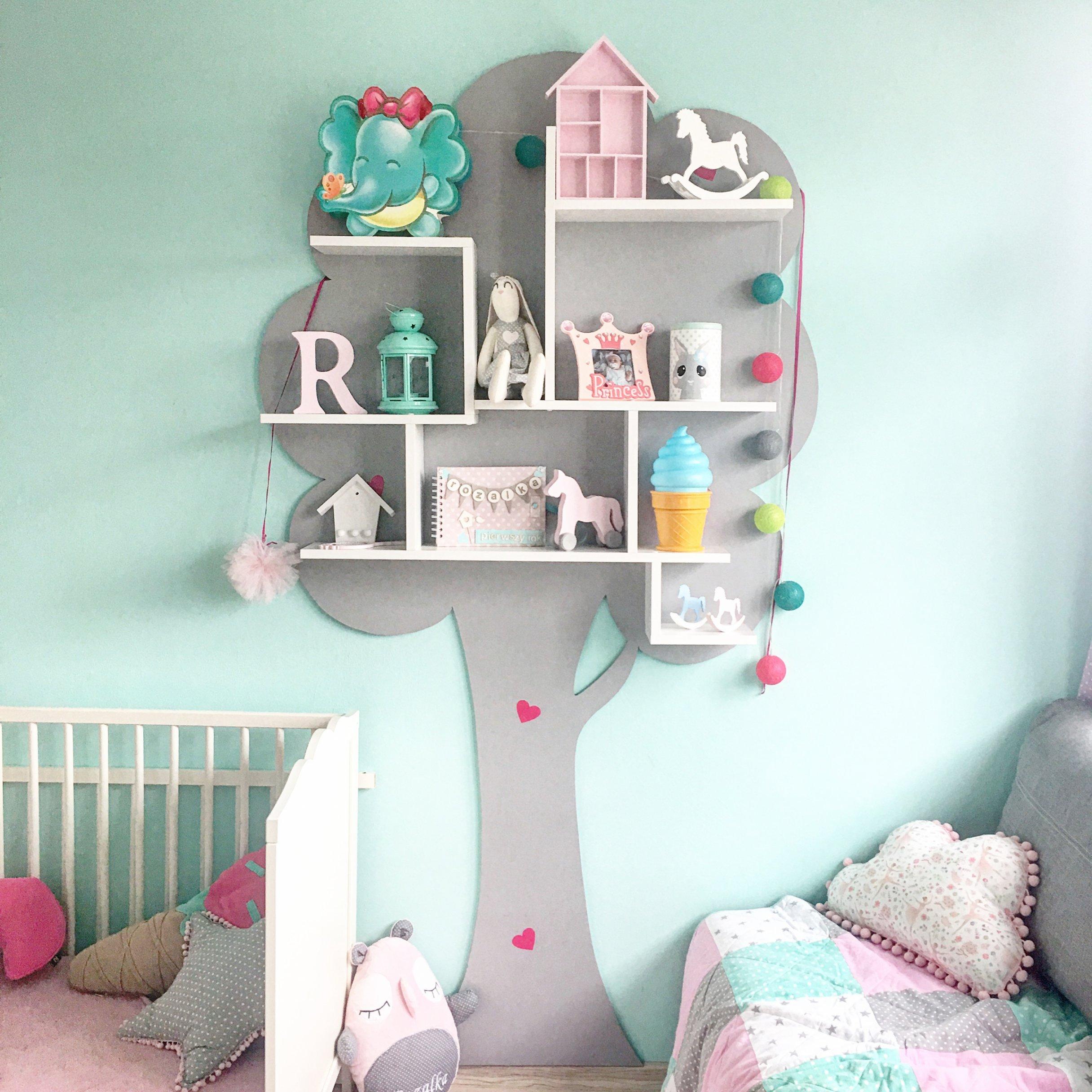 Półka Drzewo Dekoracja Pokoju Dziecka 6559442296