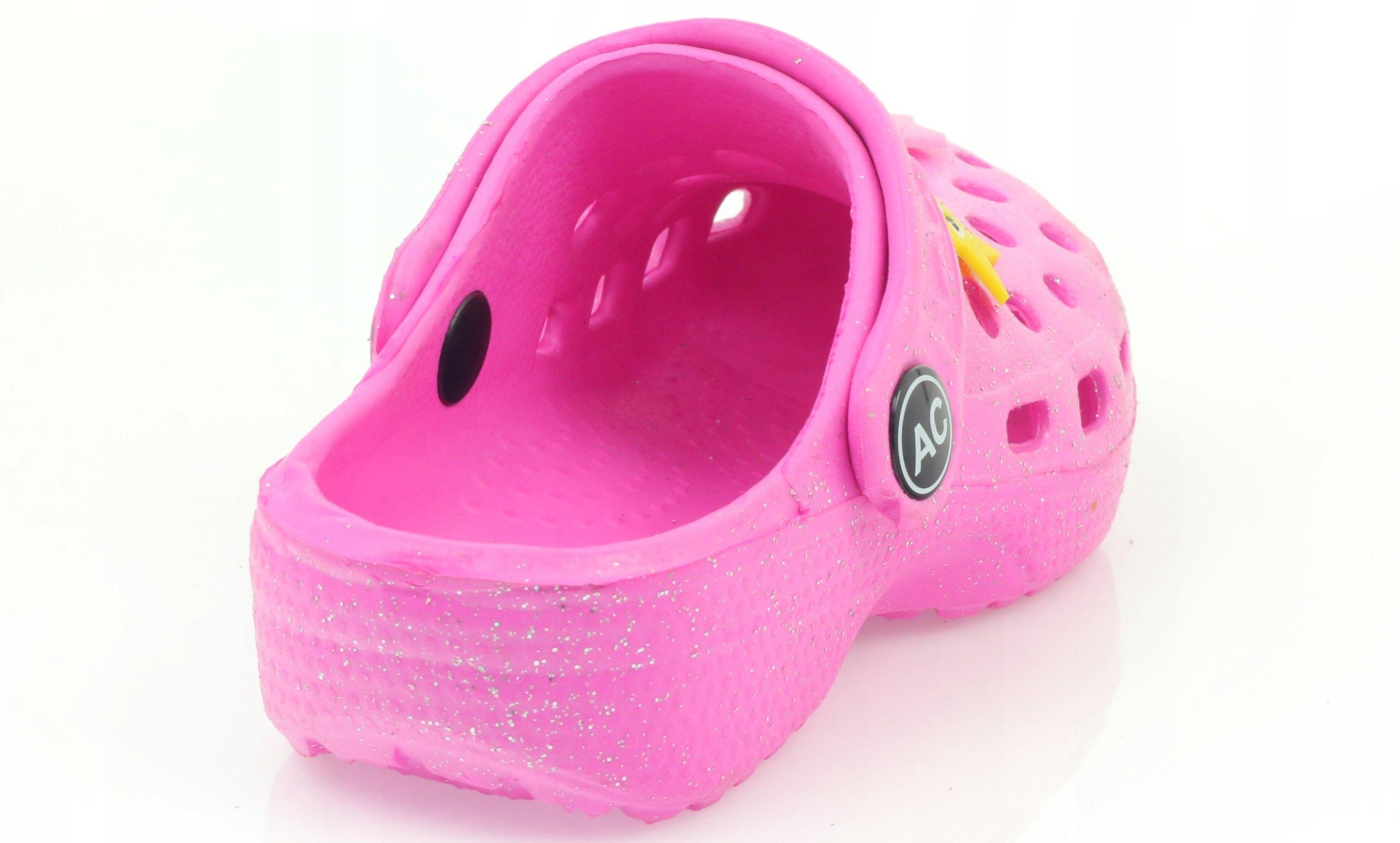 Crocs klapki kroksy różowe American r.29 - 7396561423 - oficjalne ... 86e3b3678d