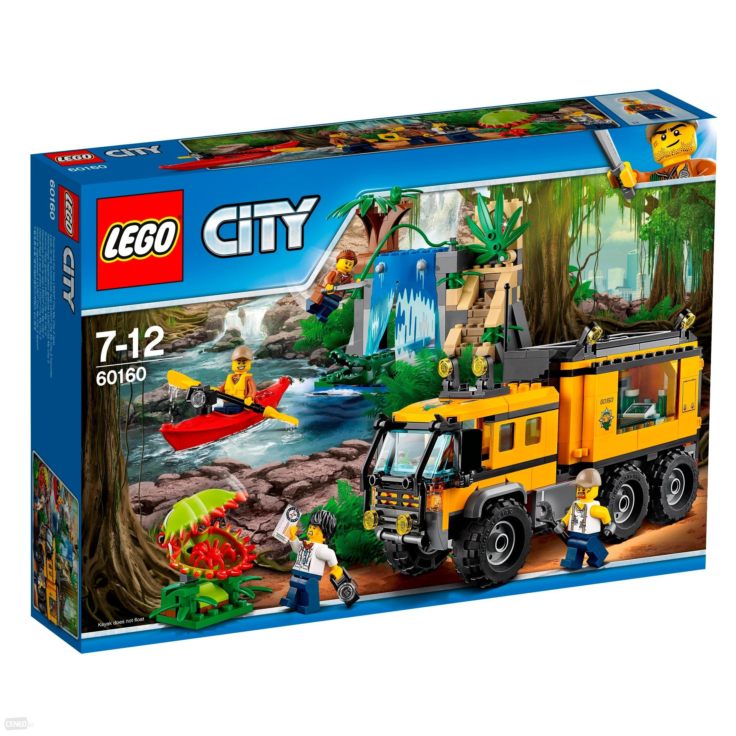 Lego City Jungle Mobilne Laboratorium 60160 7083592896 Oficjalne