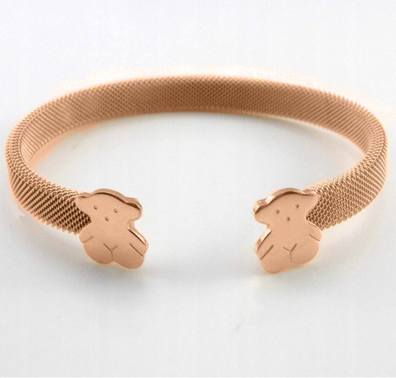 8ce9b24c27da73 Bransoletka różowe złoto w misie j. Tous - 7735068272 - oficjalne ...