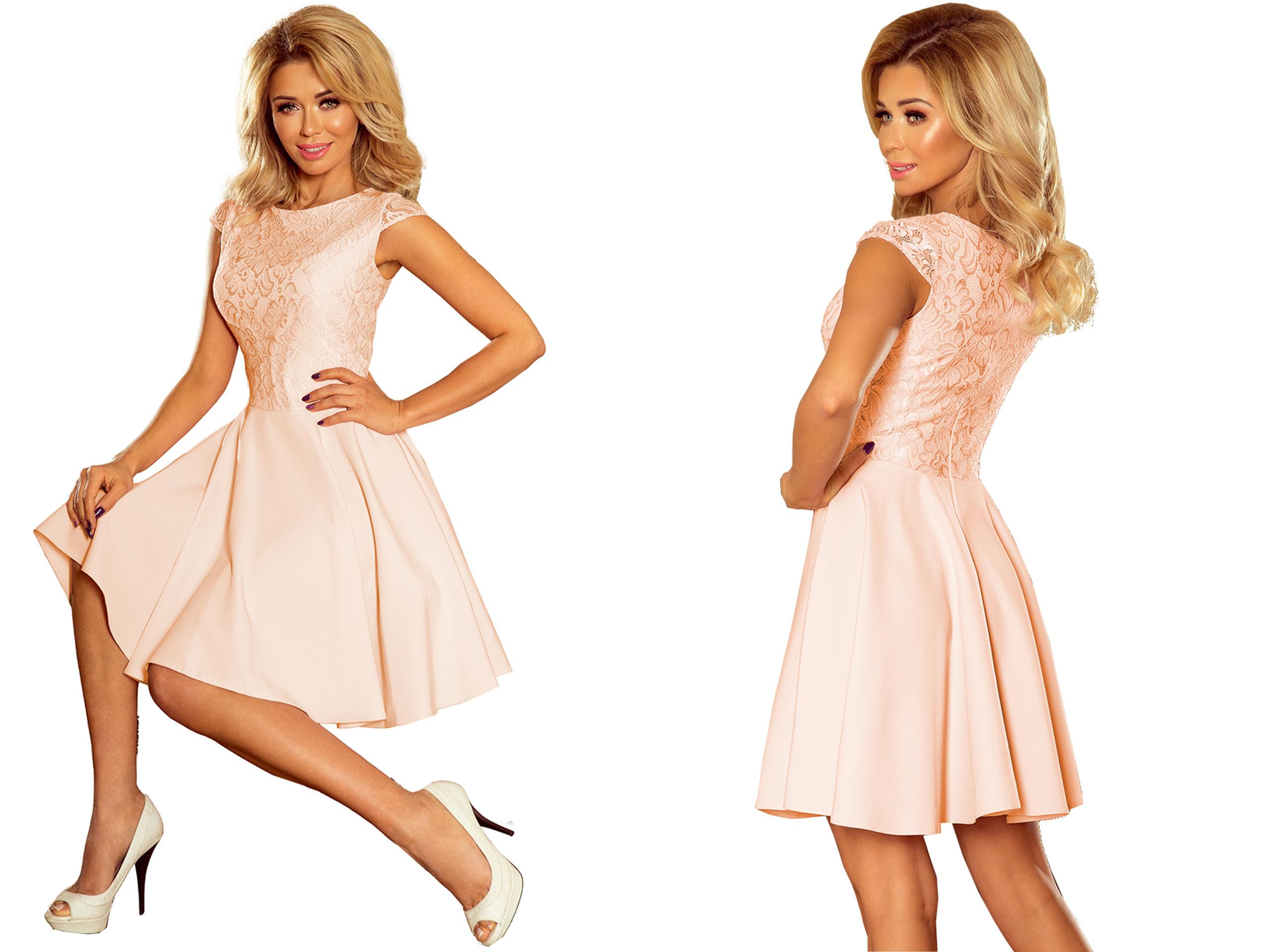 6b75958c26 NOWOCZESNA Sukienka NA PRZYJĘCIE WESELE 157-7 XL - 7400060459 ...