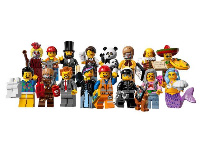 Lego Minifigurki 71004 Cała Seria Movie Sklep 7106526132