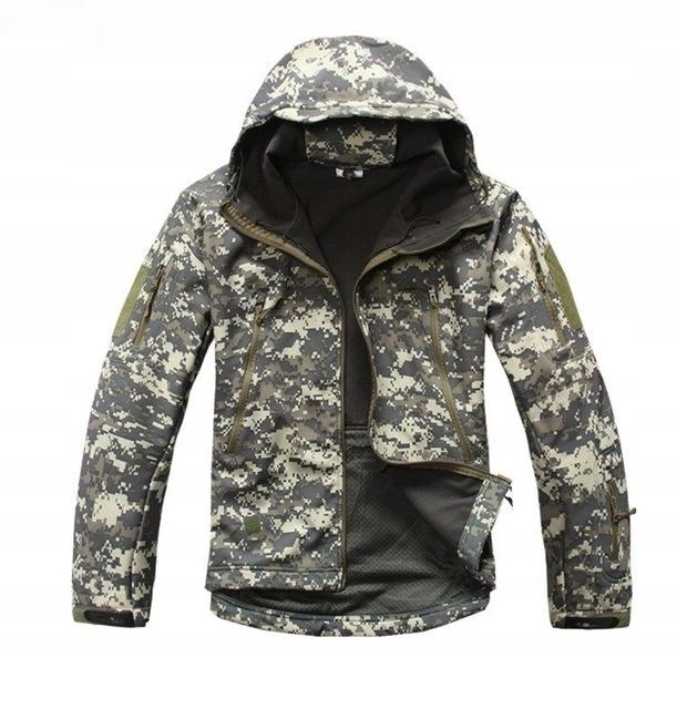 Kurtka Softshell Outdoor V4 Military Tactical man