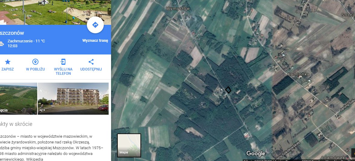 Działka okolice Mszczonowa