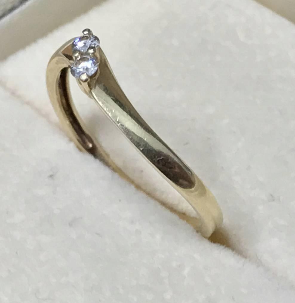 Złoty Pierścionek Zaręczynowy Wkruk Brylant 01ct 6907528547