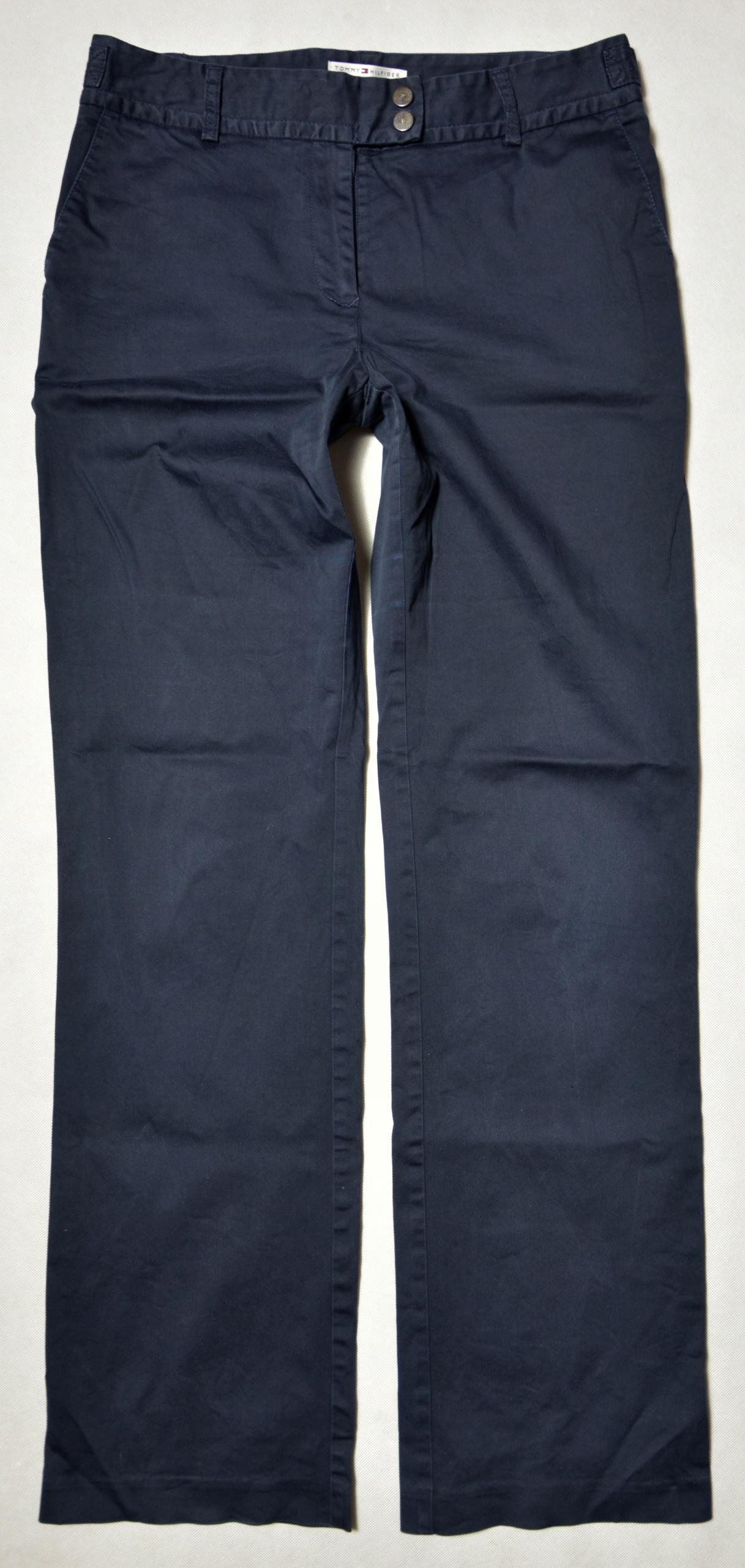 8dde235d4091e Spodnie TOMMY HILFIGER roz. 40 L pas 84 dł.109 - 7776203286 ...