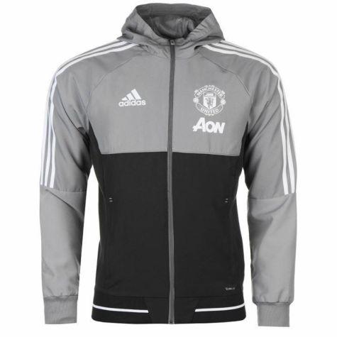 f3b6ab1f3 Bluza wyjściowa Manchester United XS Gray - 7008156756 - oficjalne ...