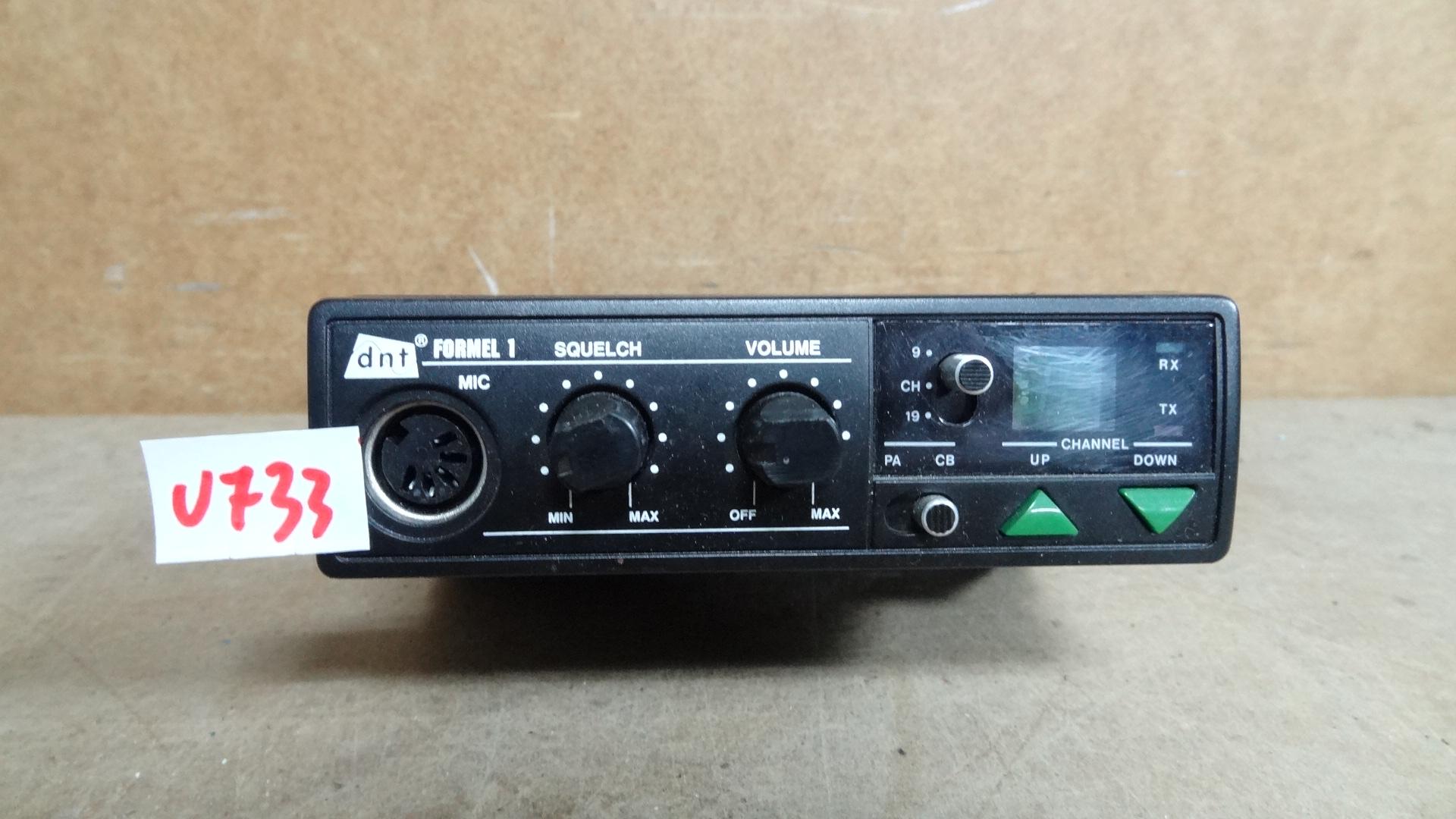 CB RADIO DNT FORMEL 1 - NR U733