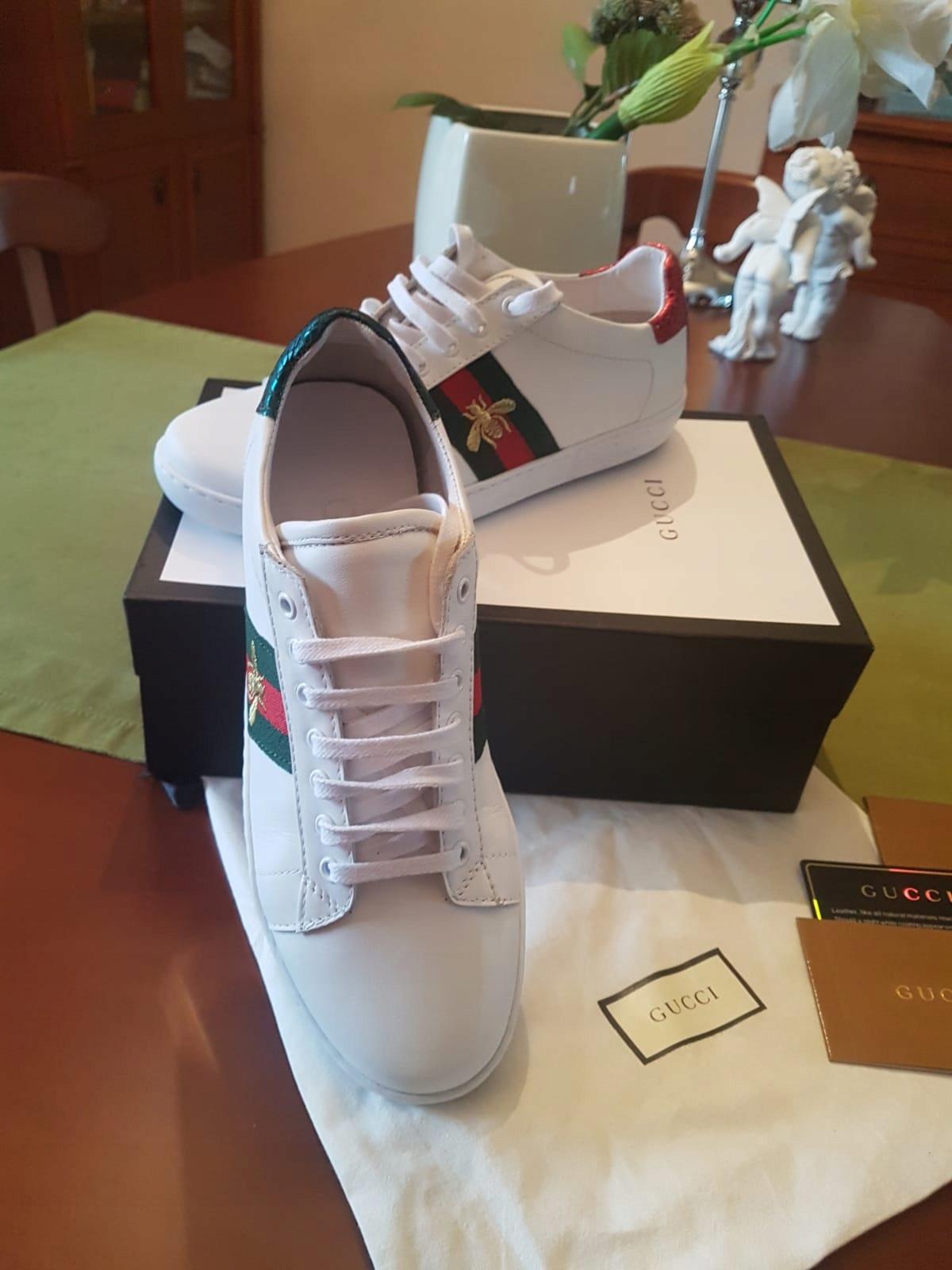 392bdfb7d3292 Na sprzedaż buty trampki Gucci Ace sneakers - 7679037085 - oficjalne ...