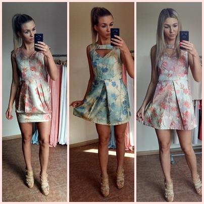 50a846a3a6 sukienki letnie 10 zł BY O LA LA wyprzedaż - 7337920898 - oficjalne ...
