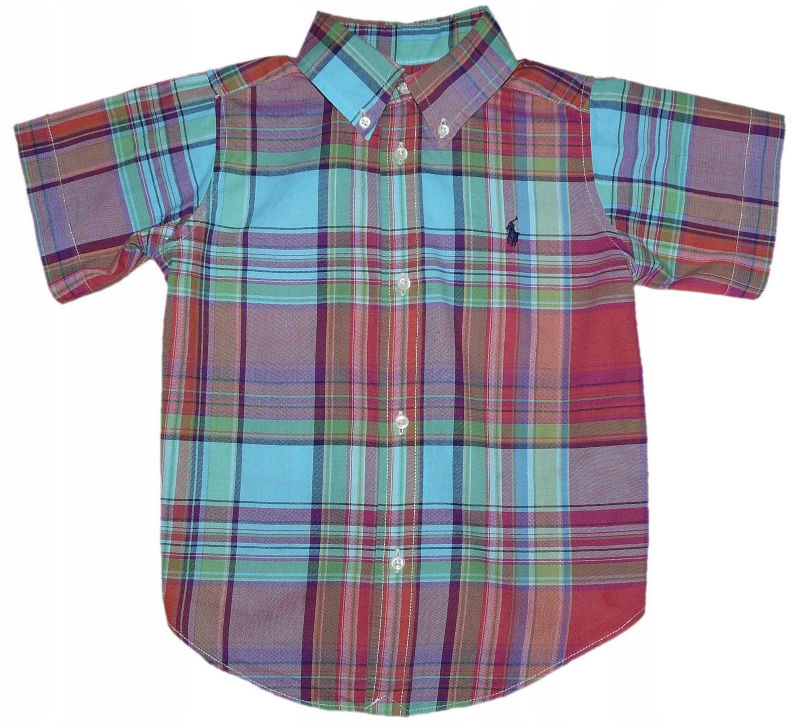 3c16ef2ab RALPH LAUREN koszula dla chłopca krata 3 L j.nowa - 7534996570 ...