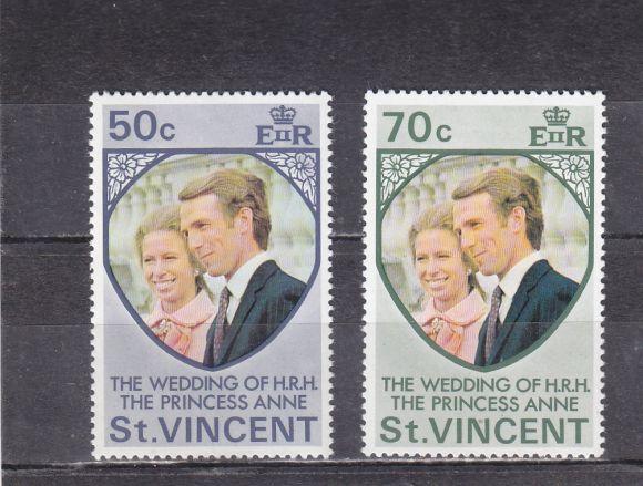 Kolonie  angielskie.  1982.  St.  Vincent**