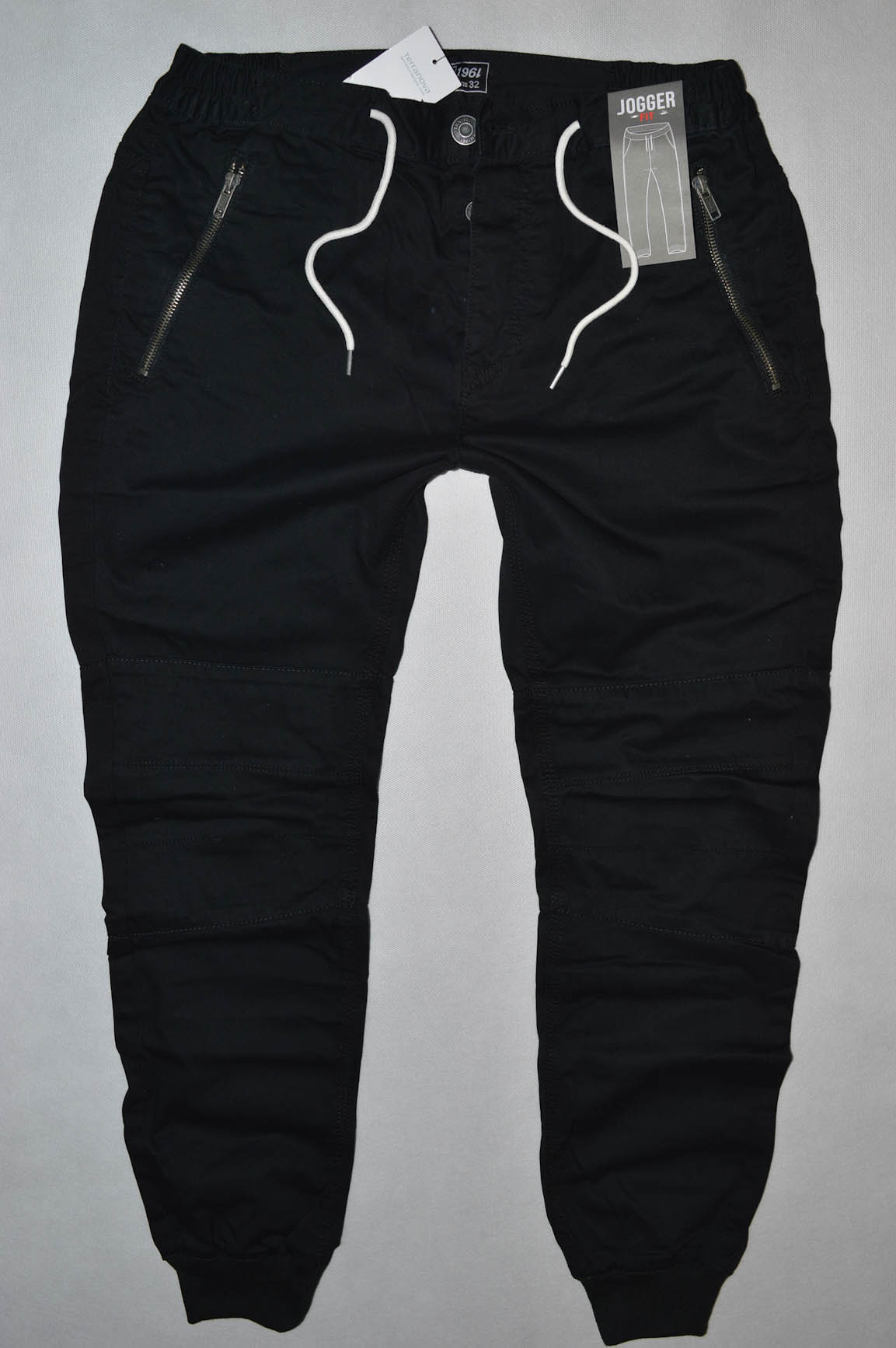 275feccaa TERRANOVA czarne spodnie jogger fit NOWE W32 84cm - 7716420419 ...