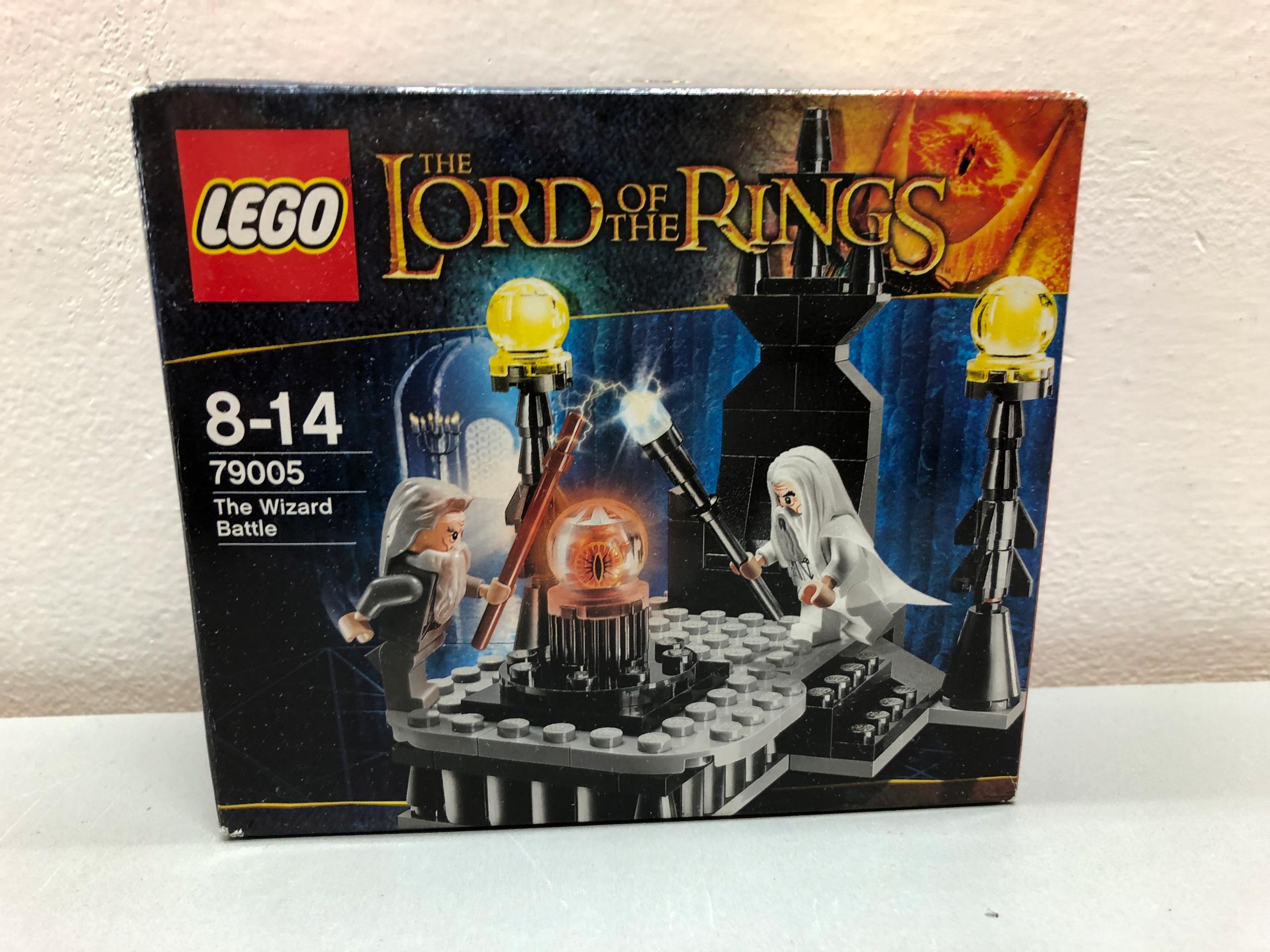 KLOCKI LEGO 79005 POJEDYNEK CZARODZIEJÓW! 14296C