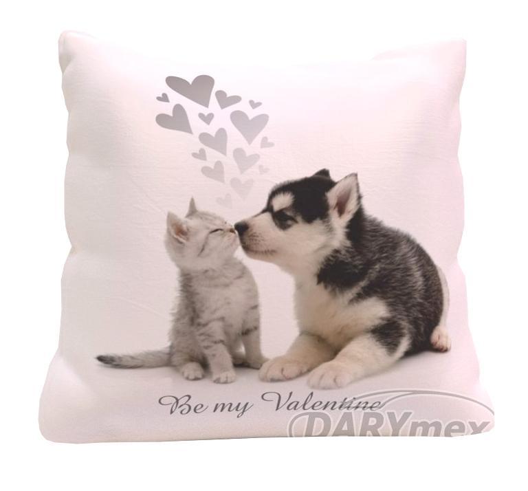 Poduszka Dekoracyjna 4040 Kot I Pies Dziecięca 6728747949