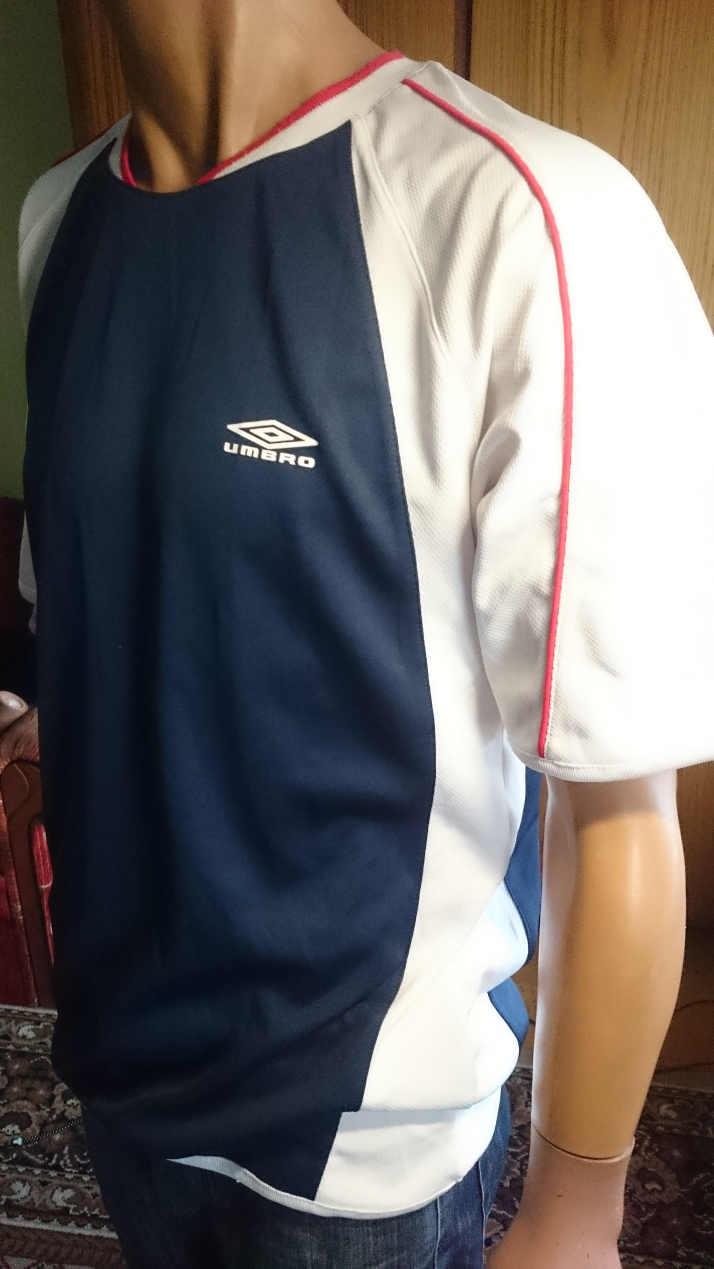 UMBRO koszula sportowa koszulka T-shirt L