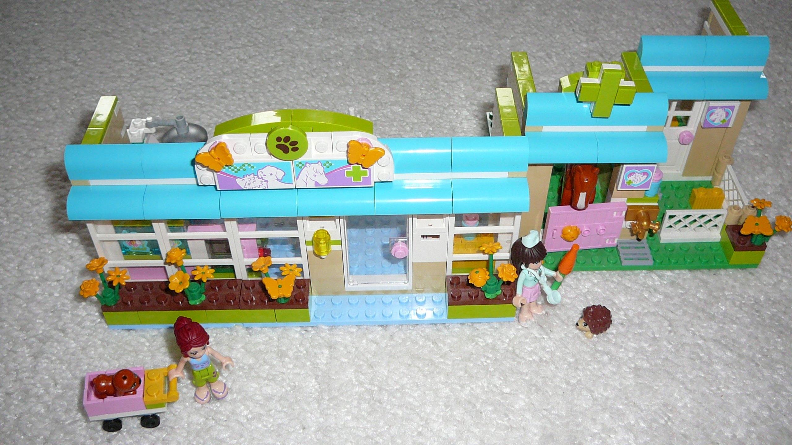 Lego Friends Weterynarz Duży 100 Kompletne 7443518399 Oficjalne