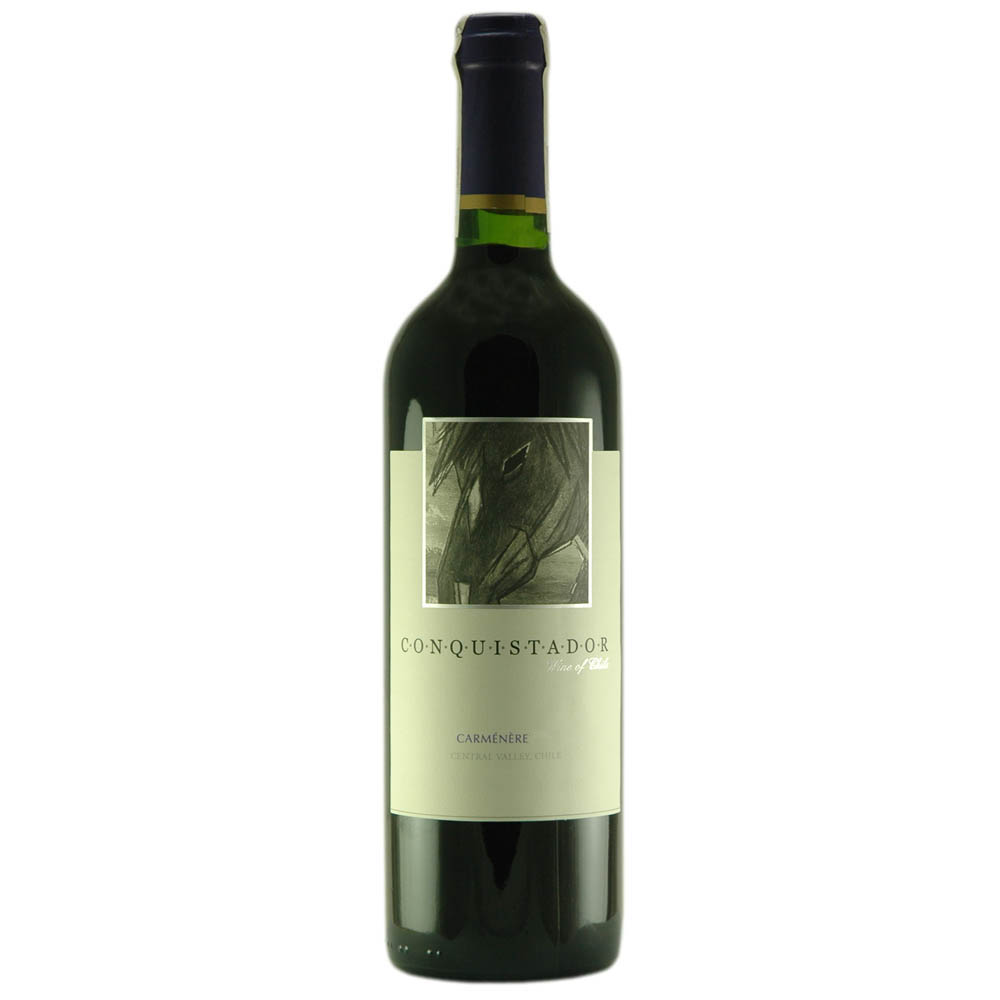 Wino CONQUISTADOR Carmenere CHILE wytrawne