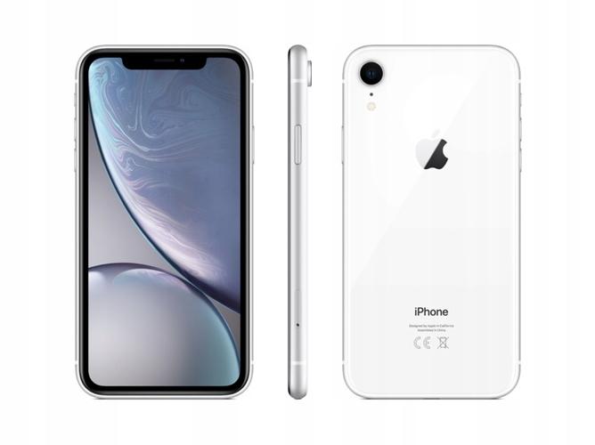 PL Apple IPHONE XR 256GB White SKLEP Kraków