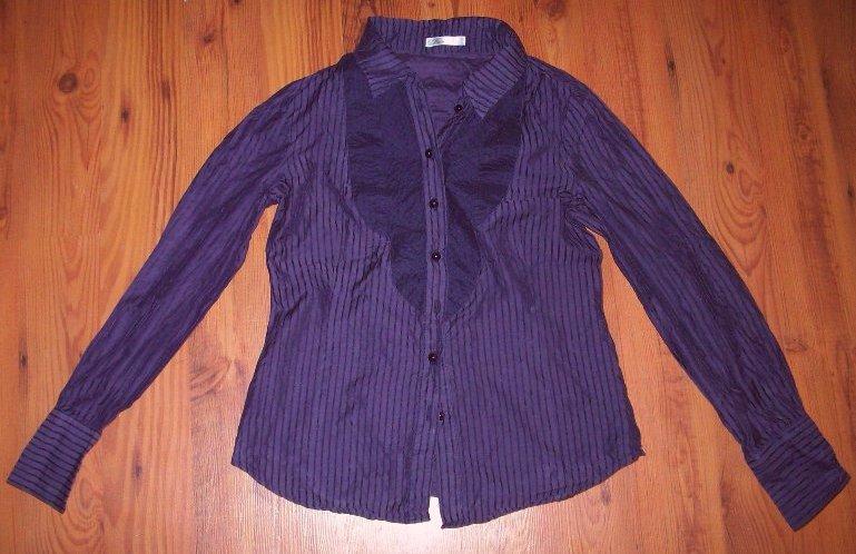 31f84710 Bluzka koszula fioletowa Reserved 36 S - 7081668344 - oficjalne ...