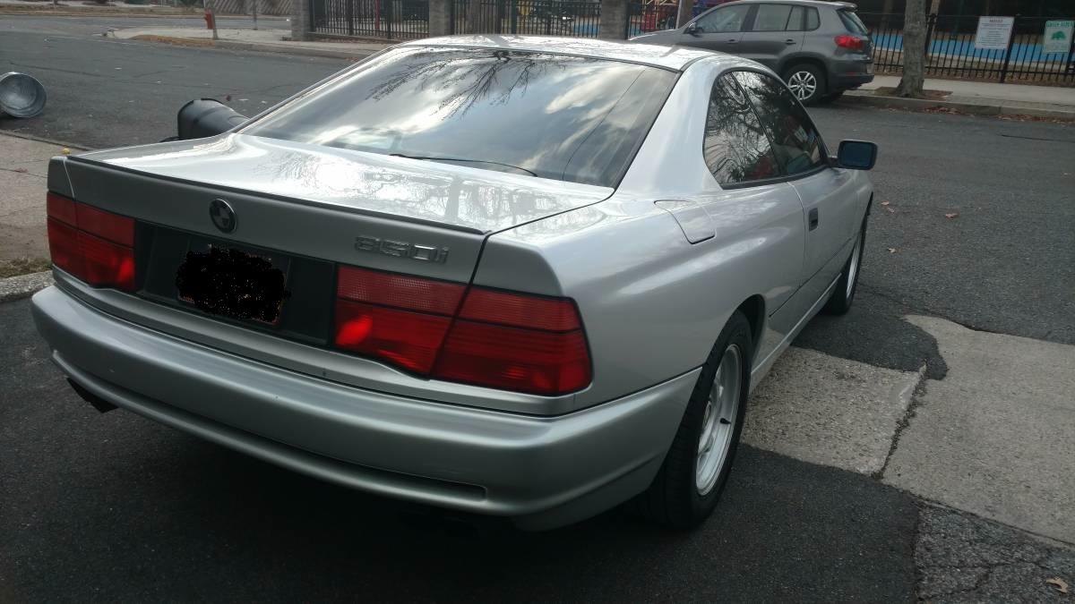 BMW 850i, E31 z przebiegiem 109 tys.mil !