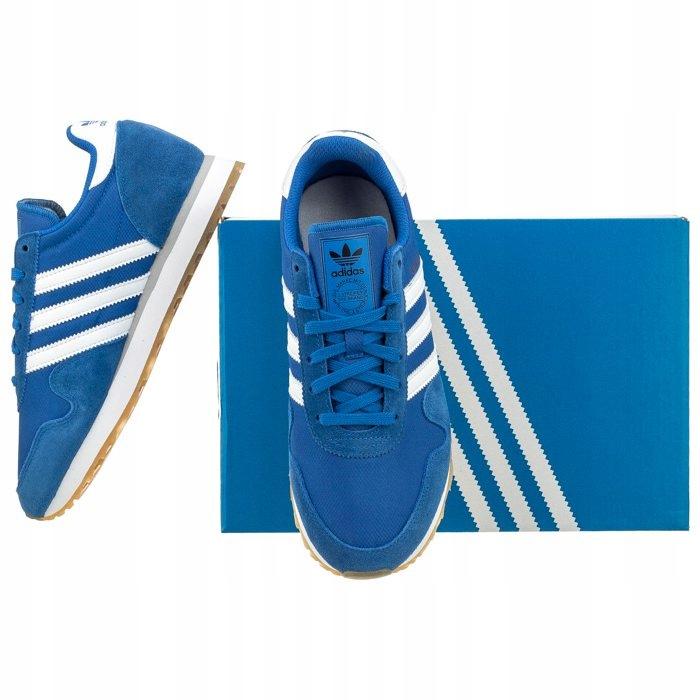 Buty Sportowe adidas Haven J BY9480 Niebieskie 7570967557