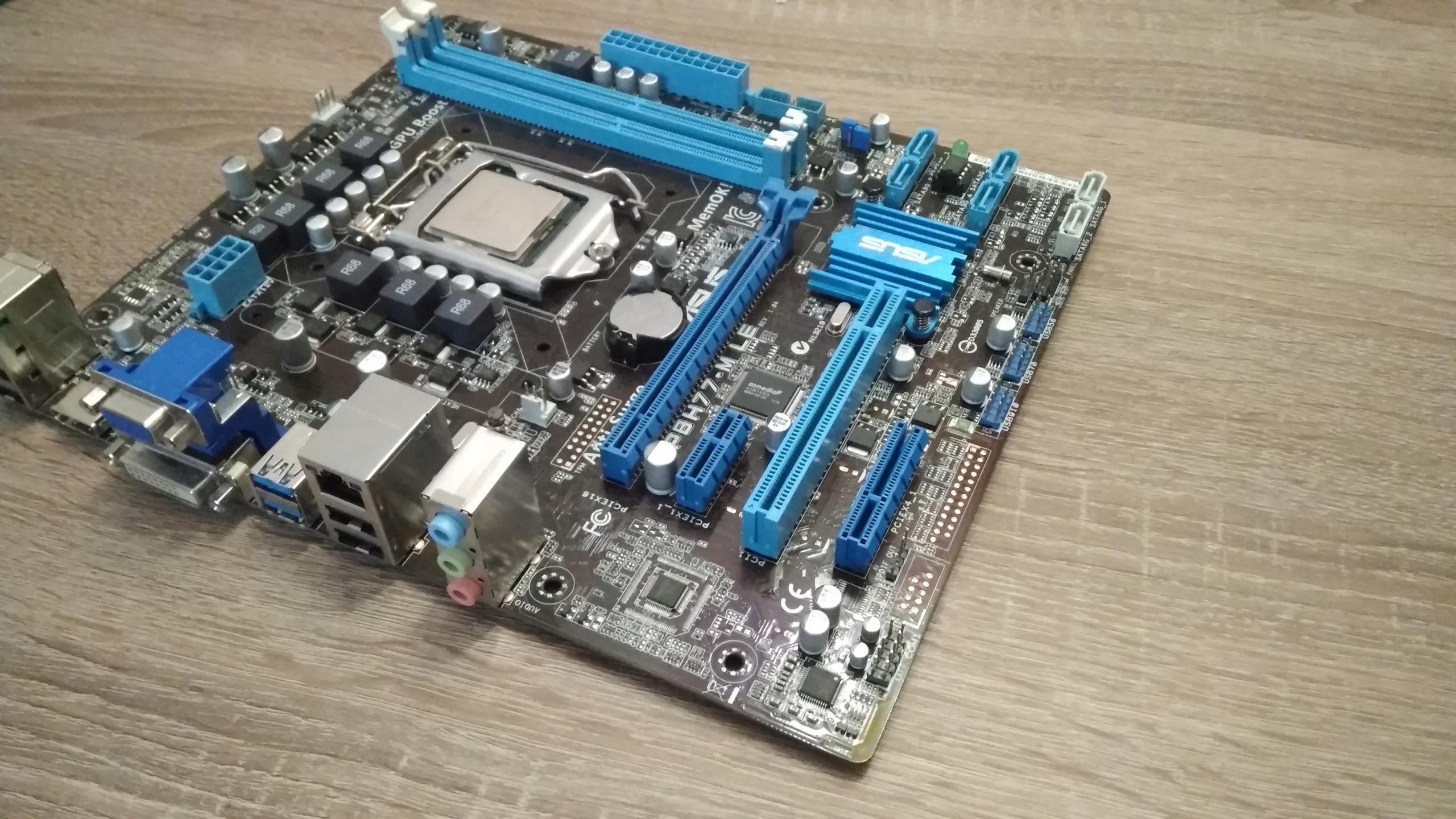 ASUS P8H77-M LE + INTEL G630