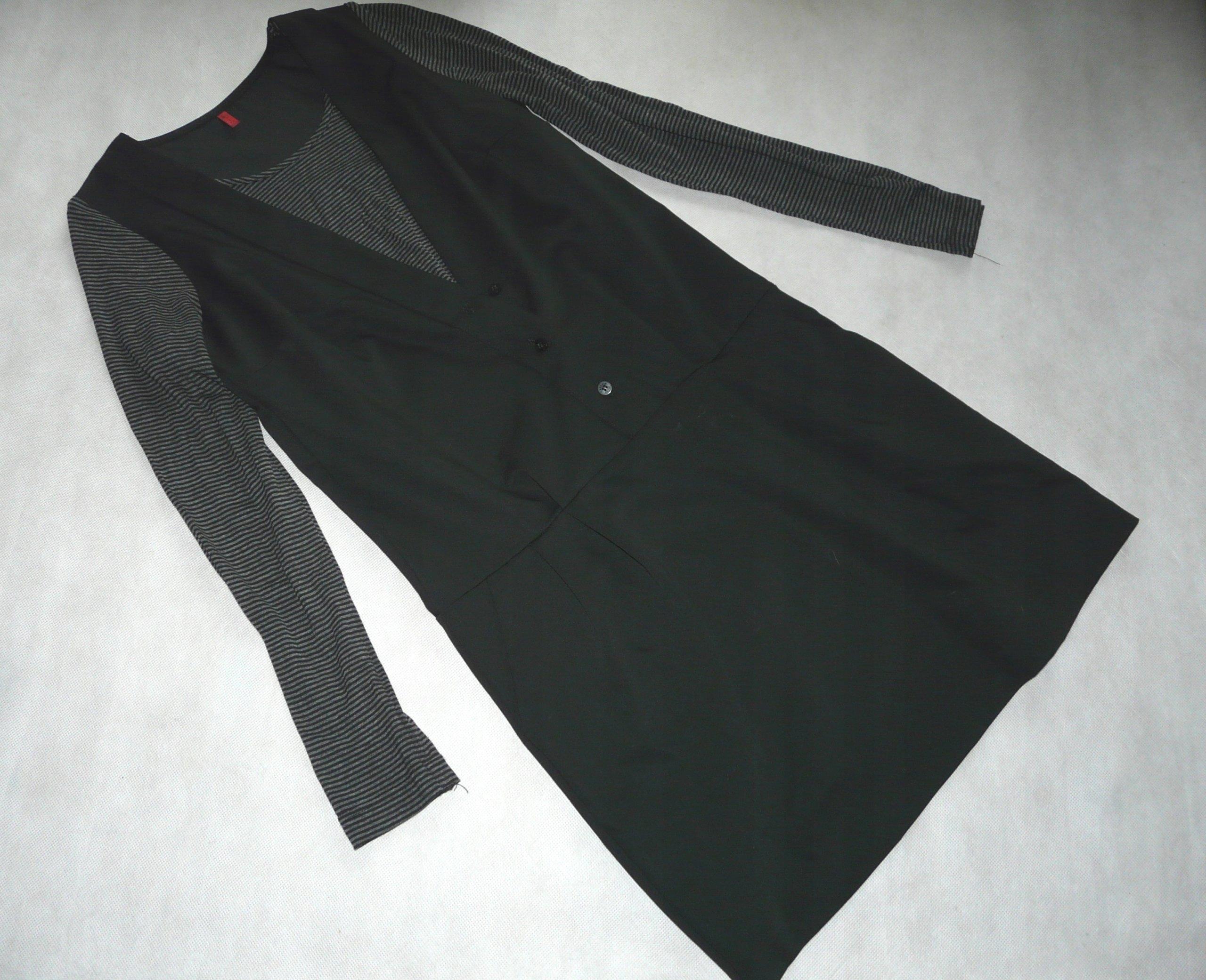 f9cd5dbf7b MISS CAPTAIN czarna sukienka minimalizm 34 - 7601086724 - oficjalne ...